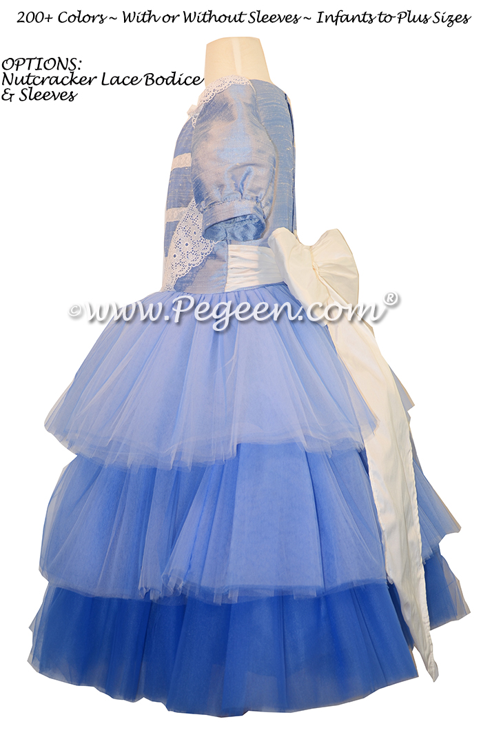Pegeen.com Ombre Flower Girl Dress