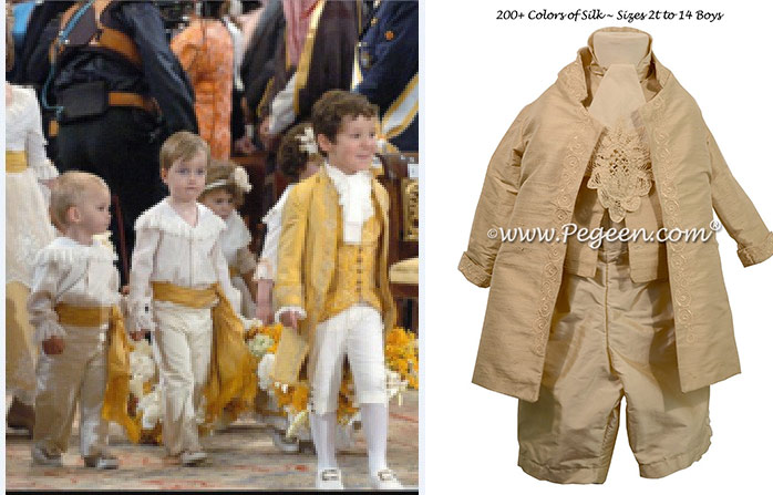 Page Boys Royal Suit from The Regal Collection